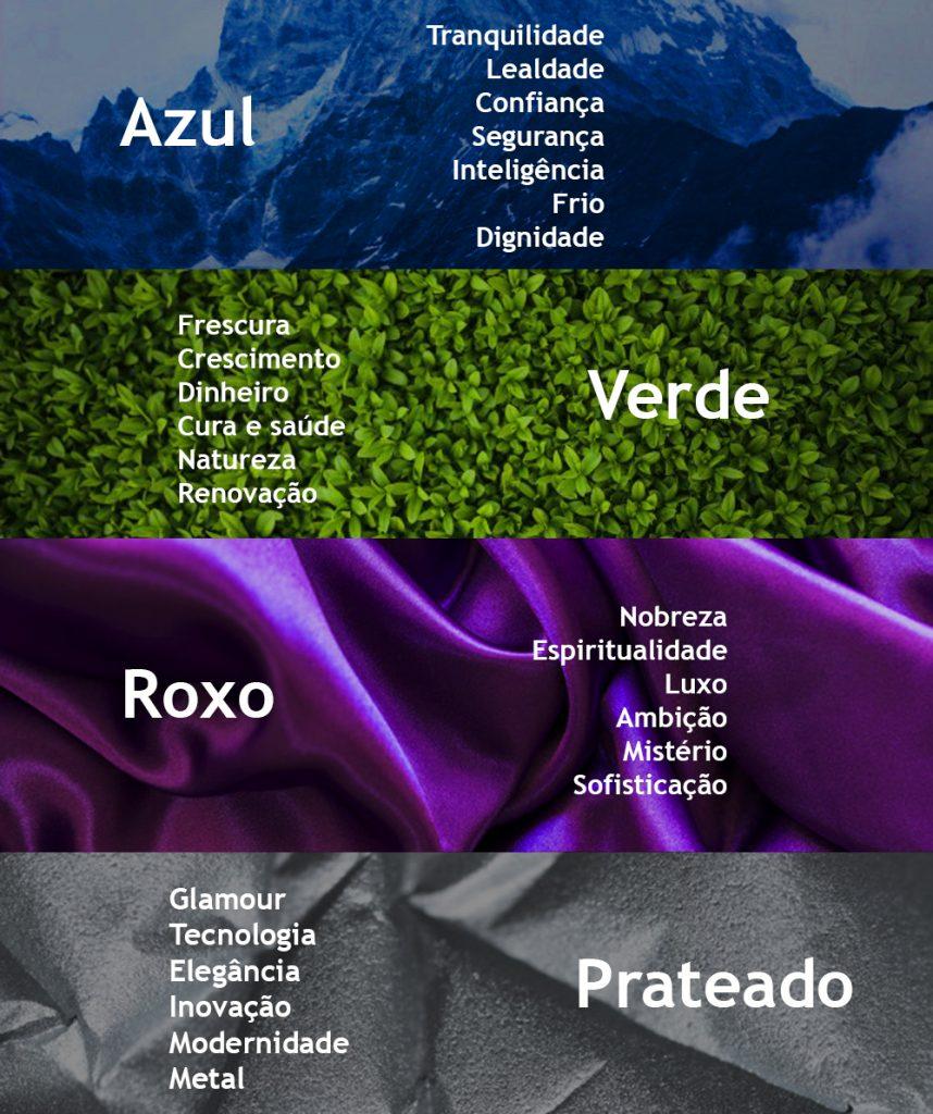 psicologia da cor - cores frias